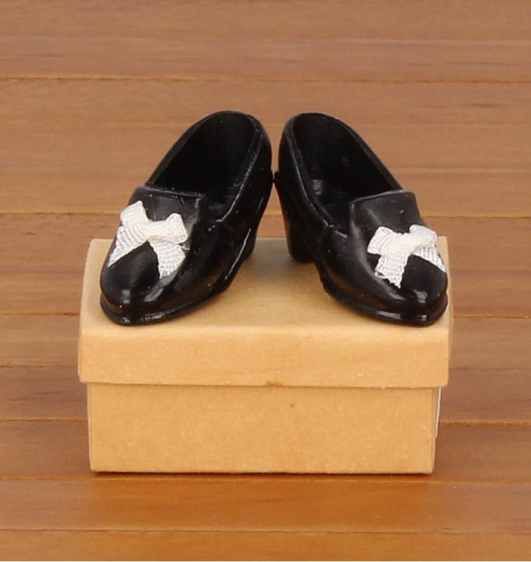 Tc1815 - Zapatos negro de señora