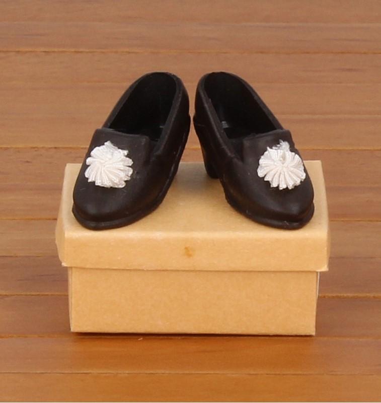 Tc1818 - Zapatos negro de señora