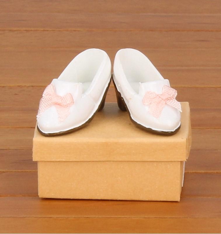 Tc1819 - Zapatos blanco de señora
