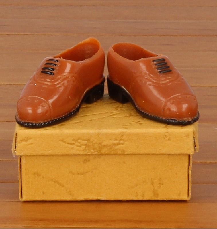Tc1872 - Zapatos marrones de hombre