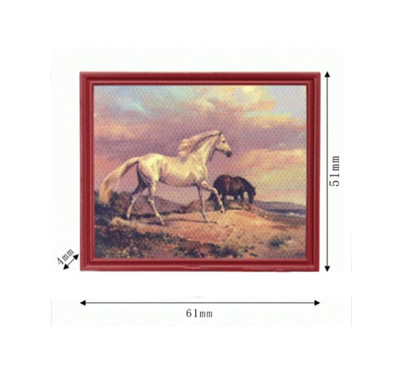 Tc2284 - Cuadro de caballos