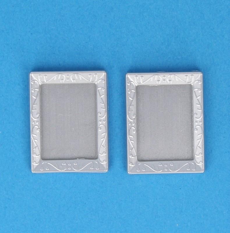 Tc2368 - Dos marcos plateados