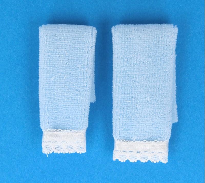 Tc2370 - Dos toallas azules