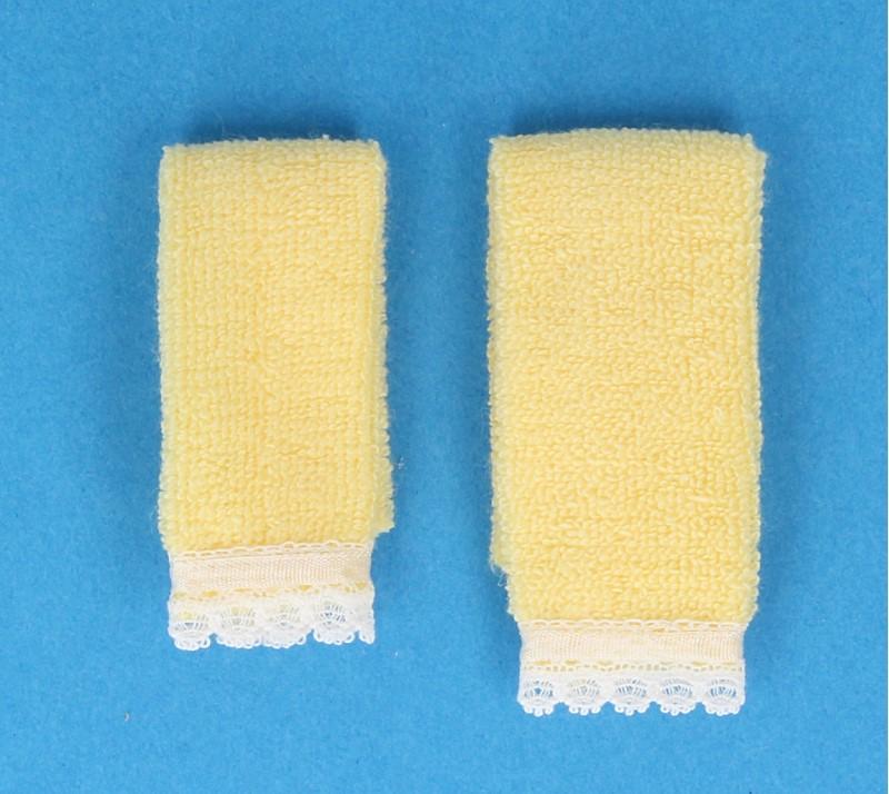 Tc2374 - Dos toallas amarillas