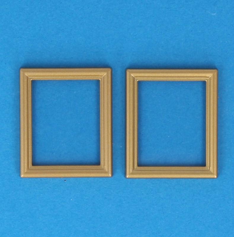Tc2375 - Dos marcos dorados