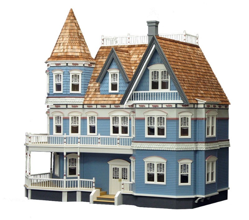 Rg006 - Casa Queen Anne en kit