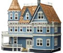 Rg006 - Queen Anne Dolls House in kit