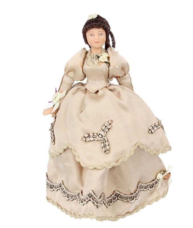 Hb0006 - Dame mit Kleid