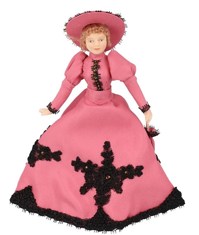 Hb0070 - Signora con il vestito