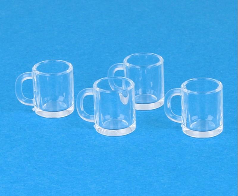 Tc2426 - Cuatro jarras de cerveza