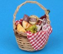 Tc2414 - Picnic basket with wine
