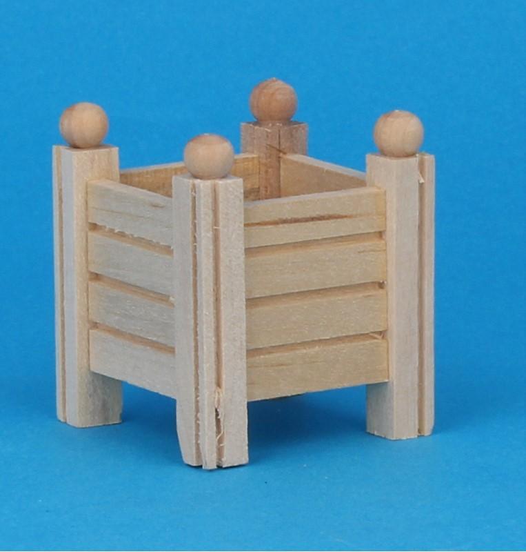 Mb0088 - Macetero de madera