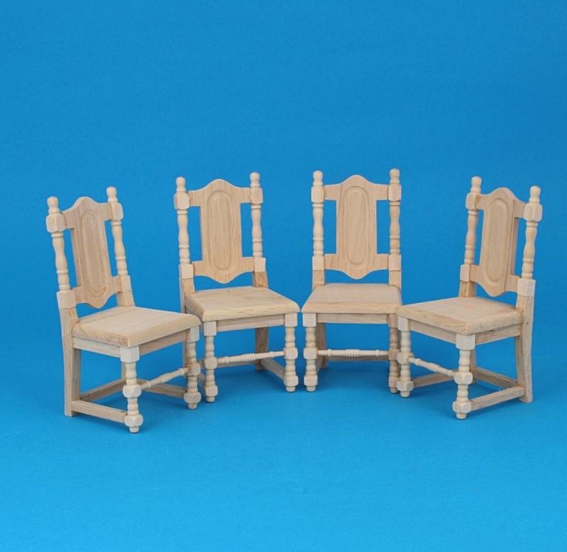 Mb0152 - Pack cuatro sillas