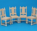 Mb0152 - Pack of four chairs