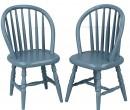 Mb0390 - Dos sillas azules