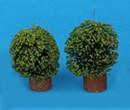 Mb0689 - Cuatro arbustos redondos