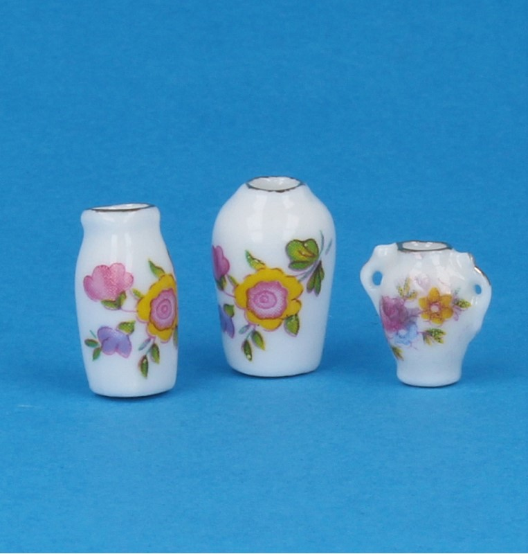 Tc1383 - Set of three vases