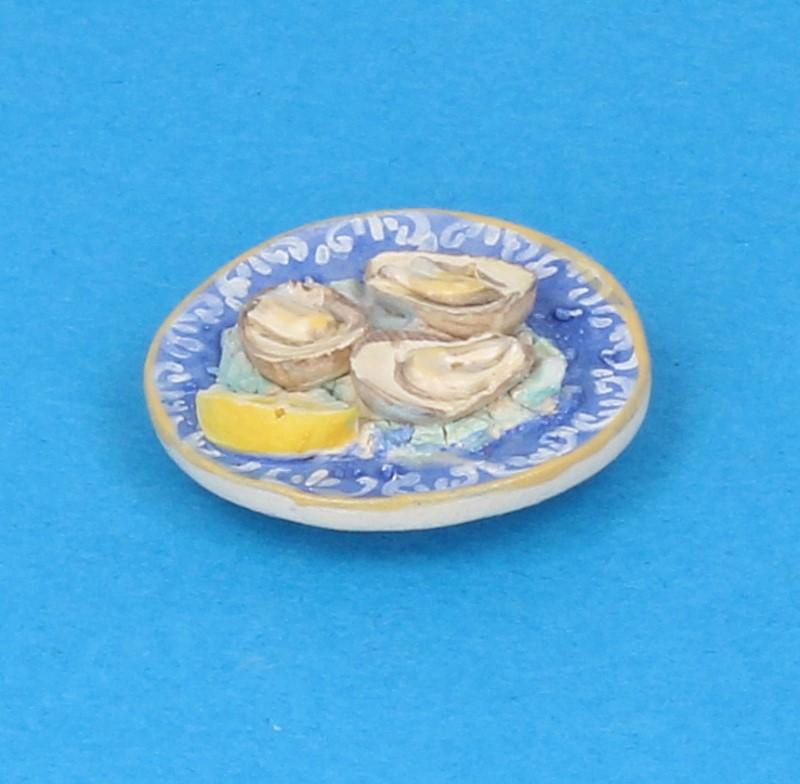 Tc2405 - Plato con ostras