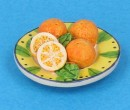 Tc2407 - Plate with oranges