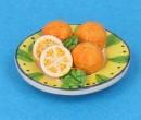 Tc2407 - Teller mit Orangen