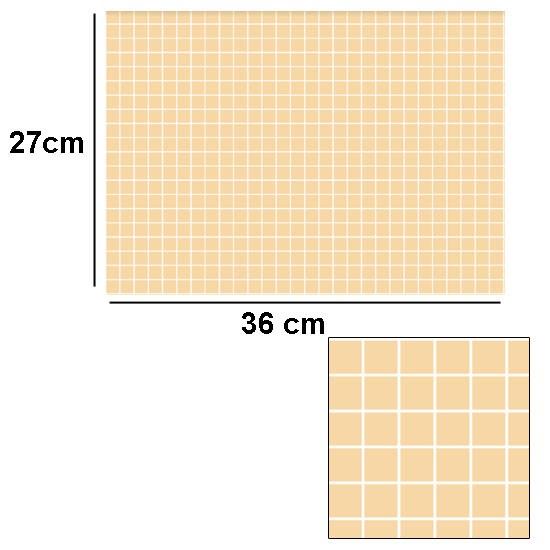 Tw2064 - Azulejos beige con relieve