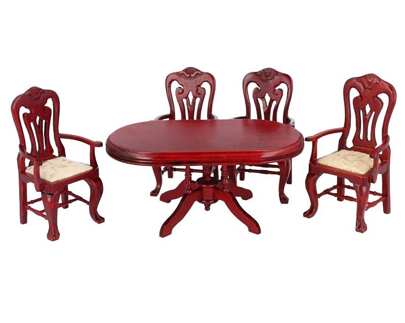 Cj0023 - Mesa y cuatro sillas