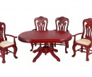 Cj0023 - Tisch und vier Stühle