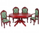 Cj0032 - Table with four chairs