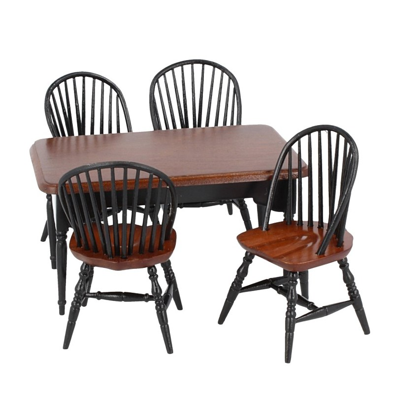 Cj0052 - Table avec 4 chaises