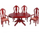 Cj0054 - Table with four chairs