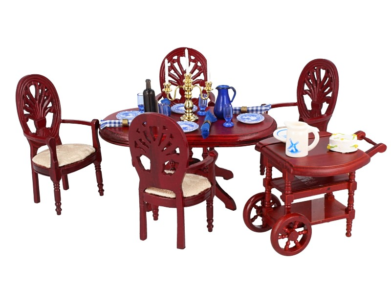 Cj0057 - Dining Room with Trolley