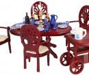 Cj0057 - Salle à manger avec chariot de service
