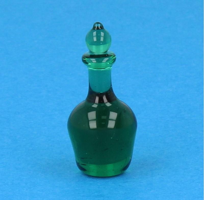 Tc2439 - Botella de licor verde