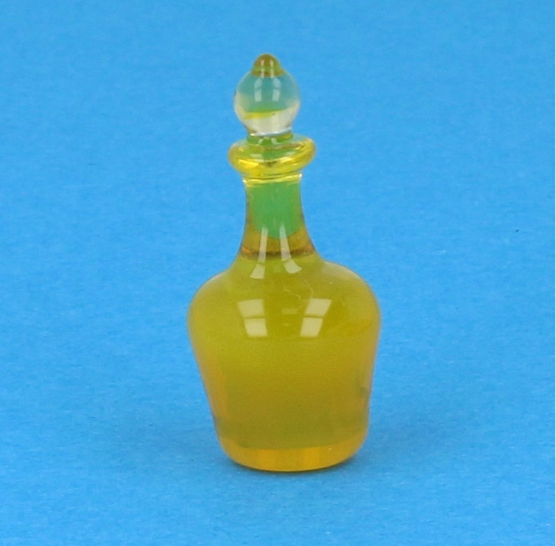 Tc2442 - Botella de licor amarillo