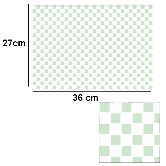 Tw2070 - Azulejos de cuadros verdes con relieve