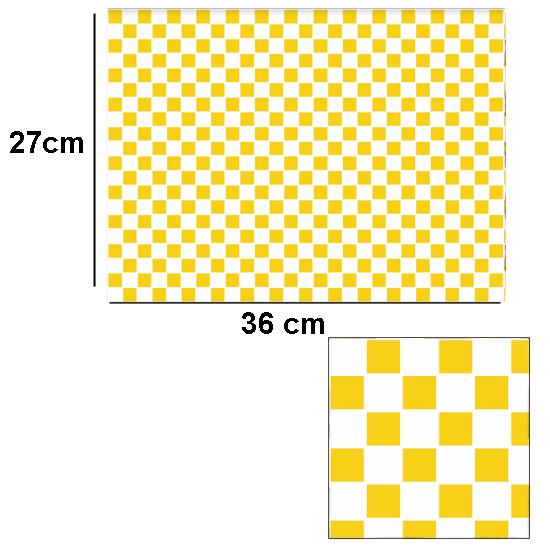 Tw2071 - Azulejos de cuadros mostaza con relieve