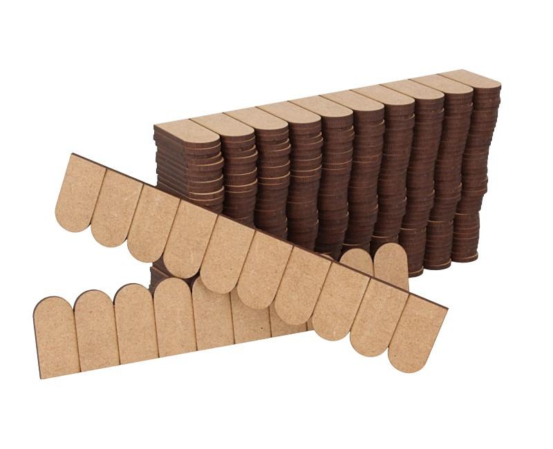 Dm70005 - Tegole di legno