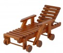Mb0489 - Wooden deck chair