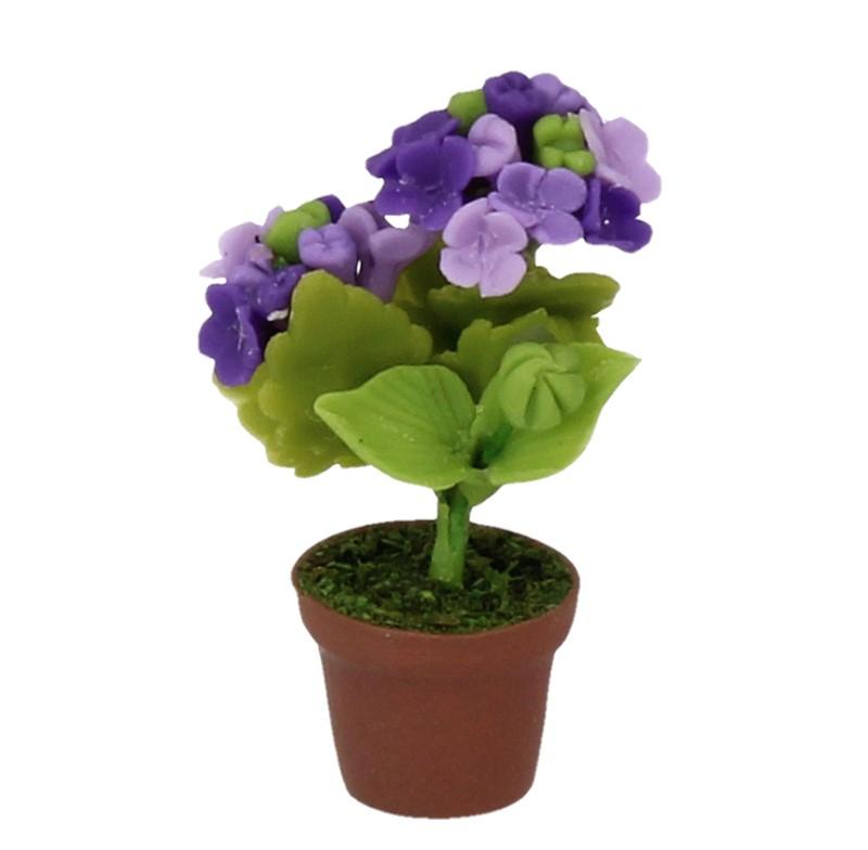 Sm4765 - Vaso con fiori lilla