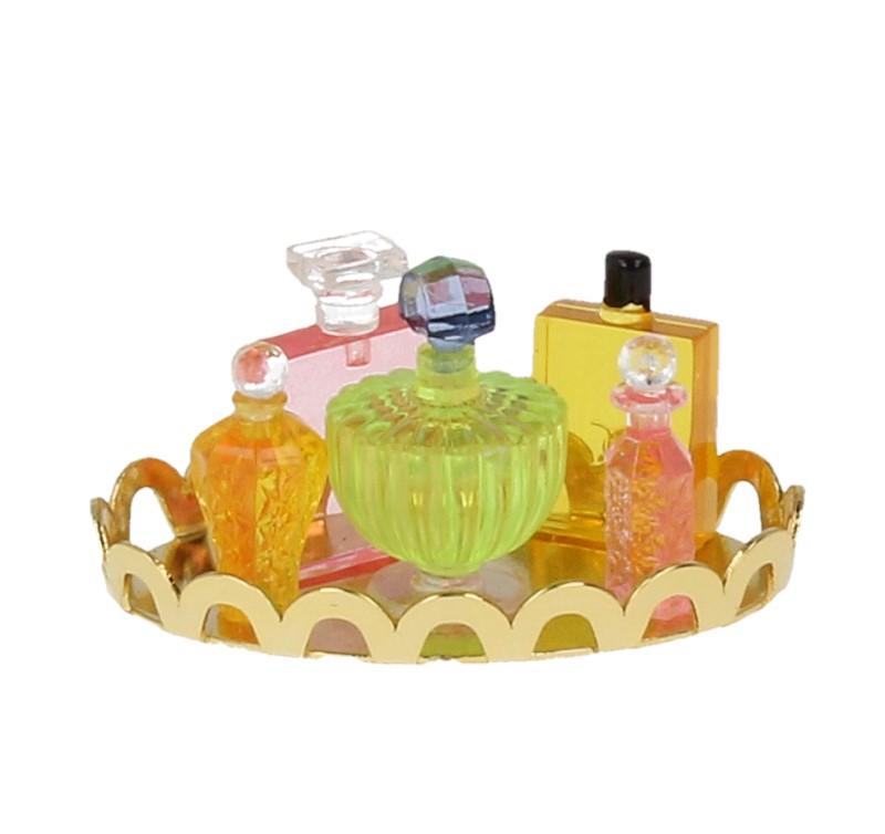 Tc0643 - Bandeja con perfumes