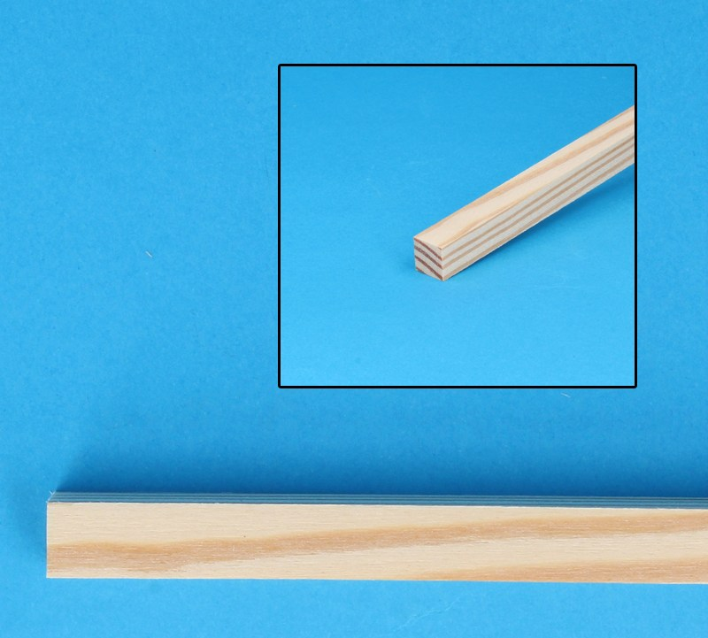 Tc9926 - Pine wood square stick