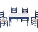 Cj0061 - Table with four chairs