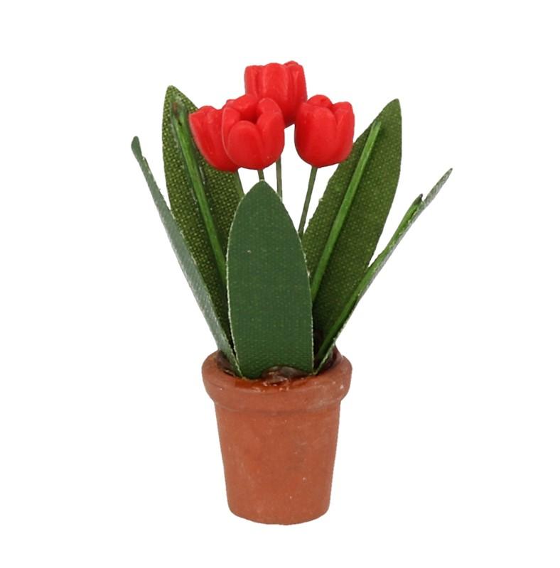 Tc0606 - Maceta con flores