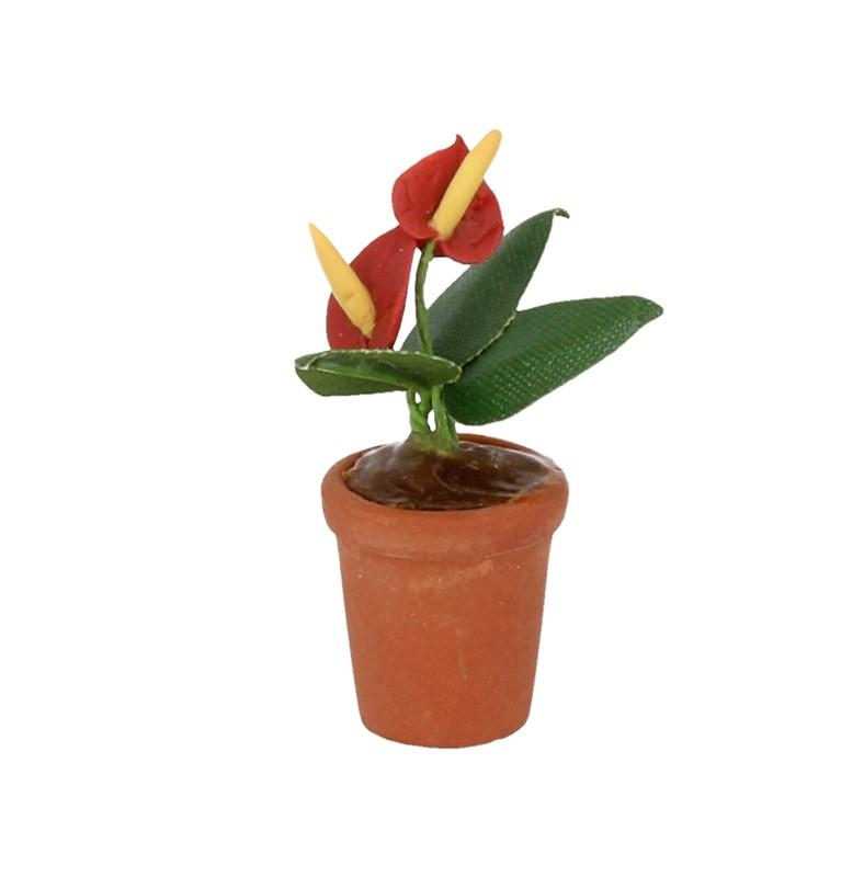 Tc0709 - Maceta con flores