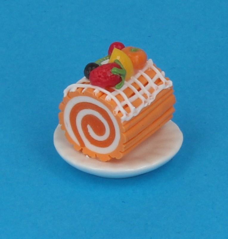Sm0608 - Portion de gâteau roulé