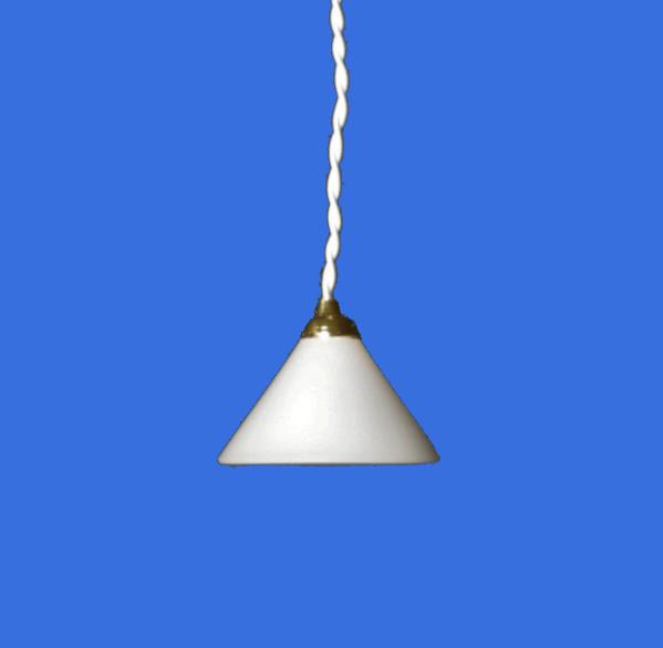 Lp0047 - Plafonnier blanc