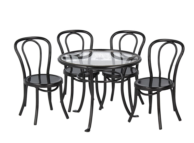 Mb0364 - Table with four chairs