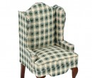 Mb0639 - Checkered armchair