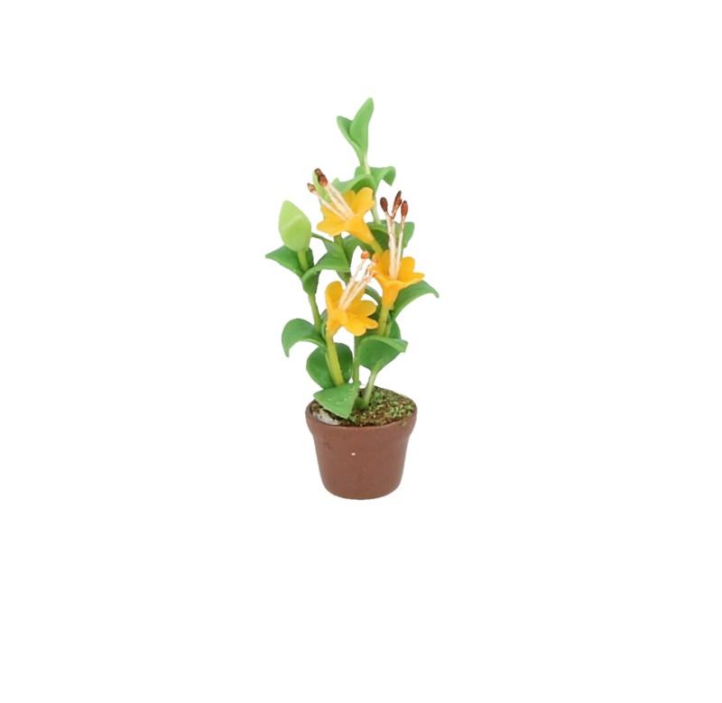 Sm4642 - Maceta con flores