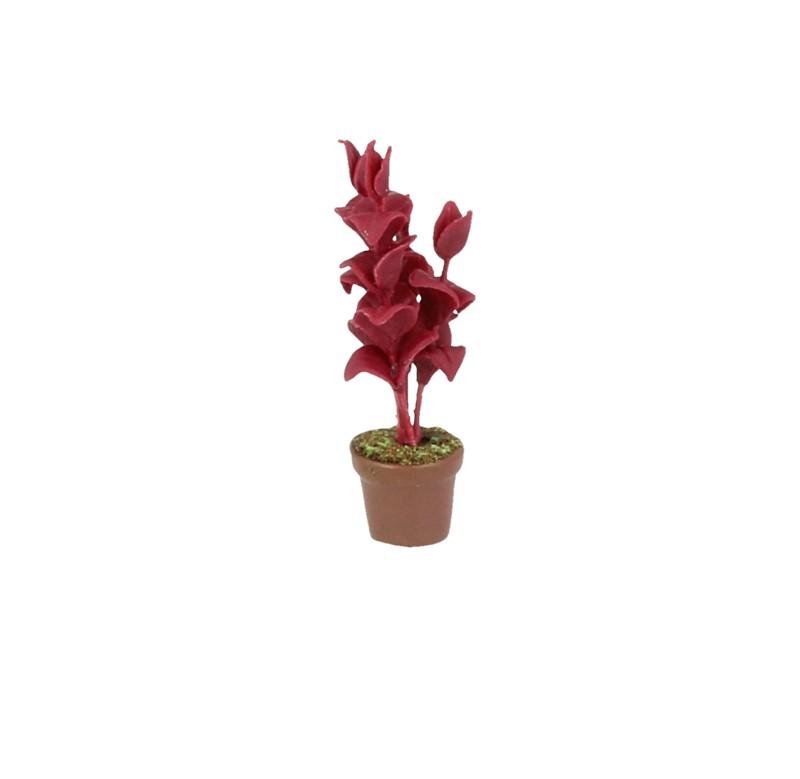 Sm4606 - Maceta con flores